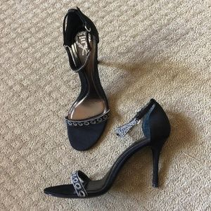 RODO Designer Jeweled Strappy Heels - SIZE 40